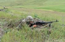 Անցնող շաբաթվա ընթացքում հակառակորդը հայ դիրքապահների ուղղությամբ արձակել է ավելի քան 3200 կրակոց. ՊԲ