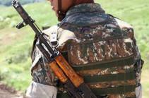 Armenian Junior Sergeant fatally wounded by Azerbaijani fire on Armenian-Azerbaijani border