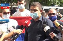 «Араик, уходи!» – молодежь партии «Процветающая Армения» требует отставки министра образования, науки, культуры и спорта