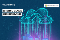 For the first time in Armenia and South Caucasus region: Viva-MTS partners with Microsoft to launch the world-leading Azure Stack cloud platform