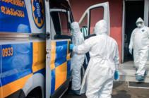 Число инфицированных коронавирусом в Грузии перевалило за три тысячи