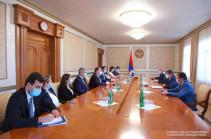 Президент Арцаха принял делегацию министерства иностранных дел Армении