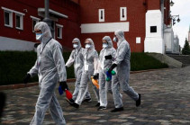Ռուսաստանում կորոնավիրուսի հետևանքով մեկ օրում 134 մարդ է մահացել