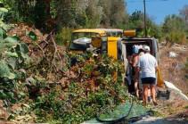 Թուրքիայում ռուսներ տեղափոխող ավտոբուս է շրջվել