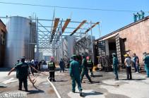 Скончался один из пострадавших при пожаре на Прошянском коньячном заводе