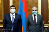 Արցախը մեր համազգային օրակարգի ամենակարևոր խնդիրն է. Հայաստանի վարչապետն ընդունել է Արցախի նախագահին