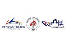 ԲՀԿ-ն, ՀՅԴ-ն և «Հայրենիք» կուսակցությունները հոկտեմբերի 8-ին համապետական հանրահավաք կանցկացնեն