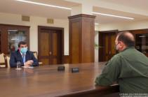 «Наш военный потенциал должен постоянно расширяться» – президент Арцаха встретился с Давидом Тонояном