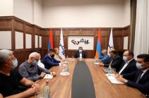 Արթուր Վանեցյանի գլխավորությամբ քննարկվել են հոկտեմբերի 8-ին սպասվող համապետական հանրահավաքի հետ կապված հարցեր