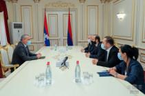 Нет предложенного Арцахом какого-либо проекта или вопроса, который не находил бы решения у властей Армении – встреча спикеров парламента Армении и Арцаха