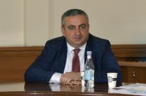 Գեորգի Ավետիսյանն ազատվել է Սննդամթերքի անվտանգության տեսչական մարմնի ղեկավարի պաշտոնից