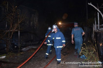 Արմավիրի Պտղունք համայնքում այրվել է 10 բնակարան, որից 2-ը՝ մասնակի․ ԱԻՆ-ը մանրամասներ է ներկայացրել