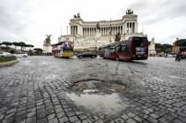 Հռոմում հասարակական տրանսպորտի աշխատակիցները 24-ժամյա գործադուլ են անում