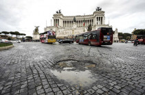В Риме сотрудники общественного транспорта проводят 24-часовую забастовку
