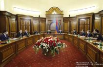 Состоялось внеочередное заседание Совета безопасности во главе с Николом Пашиняном