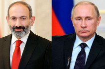 Putin, Pashinyan hold phone conversation