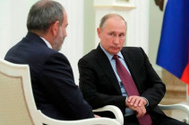 In phone conversation with Russia's Putin, Armenia's PM says further escalation and involvement of non-regional forces inadmissible