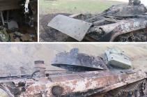 Ադրբեջանական կենդանի ուժի ու զինտեխնիկայի կորուստները (Տեսանյութ)