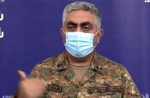 С армянской стороны есть около 200 раненых военнослужащих – Минобороны