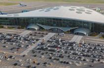 Аэропорт Баку сообщает о приостановке рейсов из-за введения военного положения