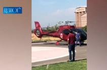 Injured servicemen transported from Artsakh to Yerevan (video)