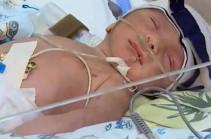 Раненная в Арцахе женщина родила мальчика и назвала его Монте