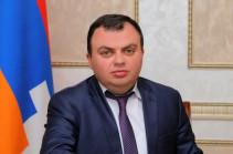 Արցախում ադրբեջանական ինքնաթիռ է խոցվել. Վահրամ Պողոսյան