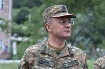 Бывший министр обороны Армении, Герой Арцаха Сейран Оганян отправился в Арцах