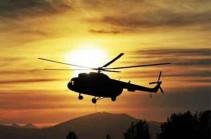 Армянские ВС сбили вертолет ВС Азербайджана