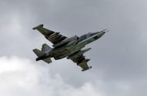 Հայաստանի օդային տարածքում խոցվել է ՀՀ ԶՈւ ՍՈւ-25 գրոհիչը. օդաչուն զոհվել է