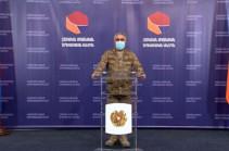 Օրվա ընթացքում Ադրբեջանն ունի 130 զոհ, 200 վիրավոր, 29 խոցված տանկ. Արծրուն Հովհաննիսյան