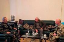 Հրապարակվել է Արցախի երեք նախագահների համատեղ լուսանկարը