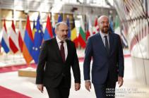 Пашинян заявил Мишелю о необходимости полного исключения вовлеченности Турции в регион
