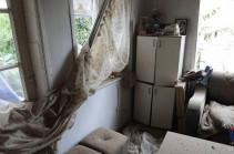 Ադրբեջանական զինուժի կողմից Արցախի խաղաղ բնակավայրերի հրետակոծության հետևանքները (Լուսանկարներ)