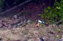 Ոչնչացված ադրբեջանական զինծառայողները (Տեսանյութ)