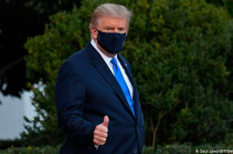 Trump flown to hospital after Covid-19 positive test