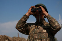 Adversary preparing attack: Artsakh Defense Army