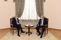Փոխվարչապետ Մհեր Գրիգորյանը հանդիպում է ունեցել ՌԴ դեսպան Սերգեյ Կոպիրկինի հետ