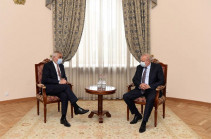 Armenia's Deputy PM Mher Grigoryan meets with Russia's Ambassador