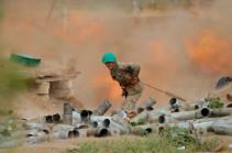 Intensive fights continue, adversary uses artillery more: Armenia's MOD representative