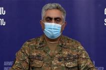 Hadrut town is under full control of Karabakh Defense Army: MOD representative