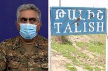 Talish not under control of Azerbaijani forces: MOD representative