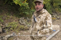 Exclusive footage from Artsakh's northern frontline (video)