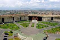 С территории Армении в направлении Азербайджана не было открыто никакого огня – Минобороны