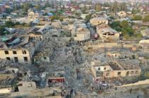 NK MOD publishes list of legitimate targets located in Azerbaijan's Ganja