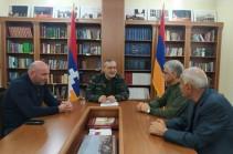 Спикер парламента Арцаха обсудил вопросы градостроительства с и.о. председателя Комитета по градостроительству Армении