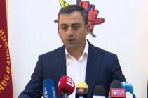 Выступившие с совместным призывом партии считают, что в стране есть неиспользованный потенциал – Ишхан Сагателян