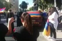 В Израиле проходит акция против продажи оружия Азербайджану