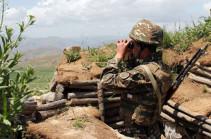 На передовой линии в Карабахе ситуация успокоилась