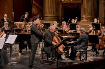 Աշխարհահռչակ ջութակահար Սերգեյ Խաչատրյանը «Լա Սկալա»-ում իր համերգի հոնորարը փոխանցել է Արցախի երեխաների օգնության հիմնադրամին